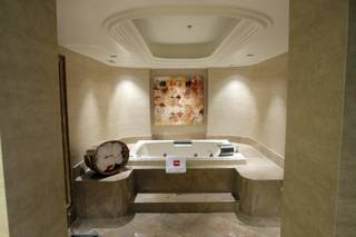A view of the bathtub in the 3,000-square-foot Chairman's Suite at the Tropicana. The property is going through its first major renovation in nearly 25 years.