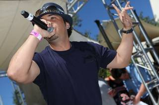 Baby Bash at the Palms on May 29, 2010.