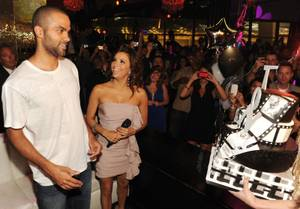 Tony Parker's 28th Birthday at Beso and Eve