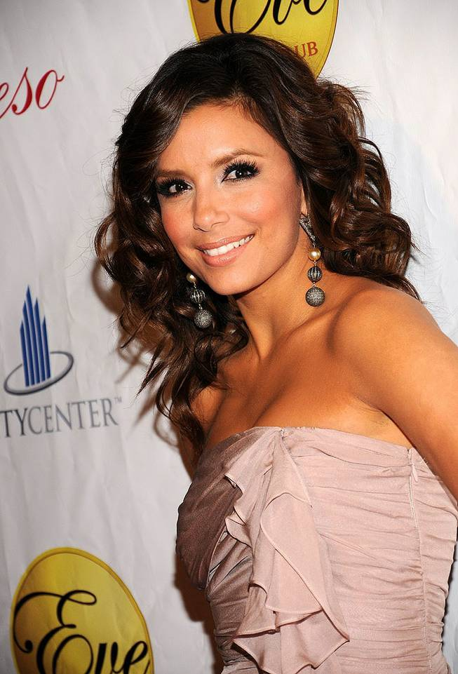 Eva Longoria Parker at Beso and Eve on May 29, 2010.