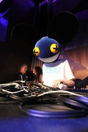 Deadmau5 at Vanity in the Hard Rock Hotel on May 30, 2010.