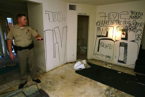 Las Vegas home to roughly 20,000 street gang members - Las