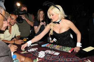 Playboy Bunny Dealer Holly Madison