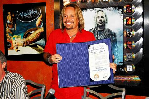Vince Neil's Tres Rios Grand Opening