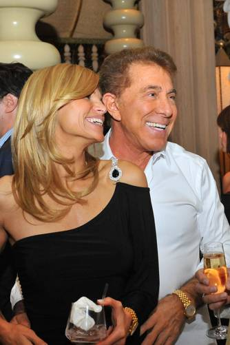 Andrea Hissom and Steve Wynn at Sinatra in the Encore on June 18, 2010.