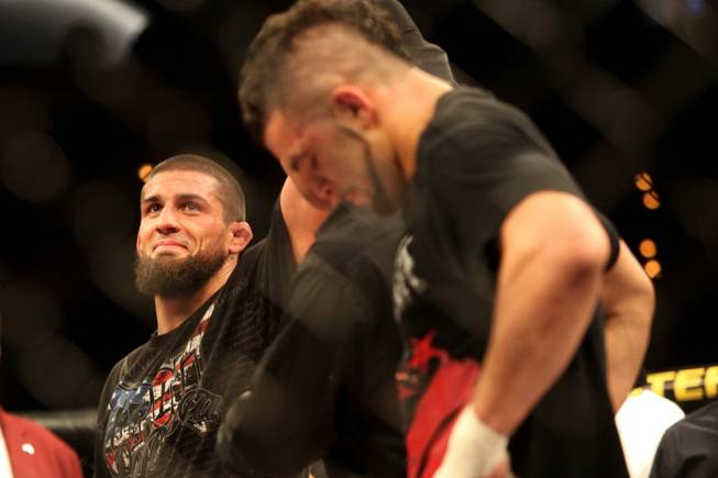 Court McGee the Ultimate Fighter 11 trophy winner