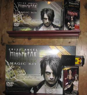 Criss Angel's new magic kit in his Las Vegas mountaintop mansion Serenity.