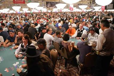 The World Series of Poker at the Rio.