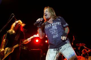 Vince Neil performs at the Palms Pool & Bungalows on July 1, 2010.