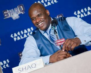 Shaquille O'Neal as photographed by Tom Donoghue.