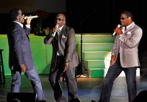 Boyz II Men perform at The Orleans Showroom on July 10, 2010.