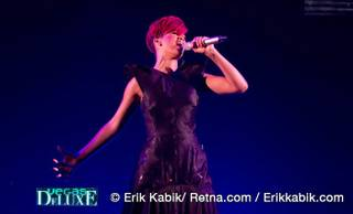 Rihanna performs at the Mandalay Bay Events Center on July 17, 2010.