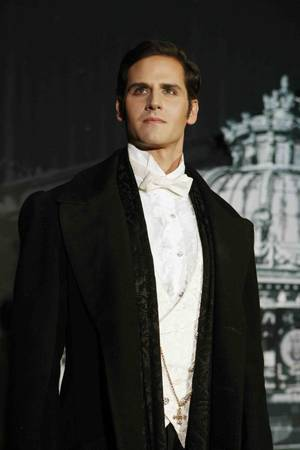 Andrew Ragone as Raoul in <em>Phantom -- the Las Vegas Spectacular</em> at The Venetian.