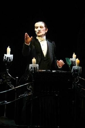 Anthony Crivello as The Phantom.