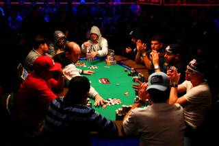 The final table of the 2010 World Series of Poker Main Event plays down from 10 to nine players on the last day of competition in July. The