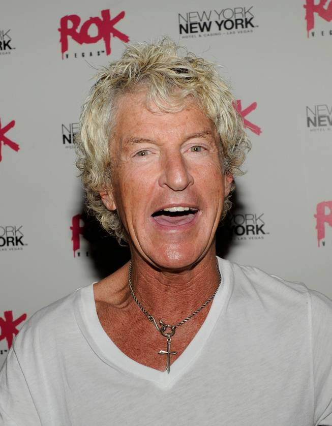 REO Speedwagon frontman Kevin Cronin at Rok Vegas in the New York-New York on July 24, 2010.