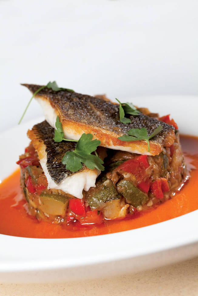 Payard's Mediterranean sea bass