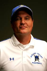 Moapa Valley High coach Brent Lewis.