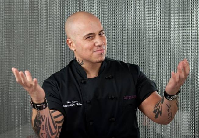 Rumor Las Vegas executive chef Vic Vegas.