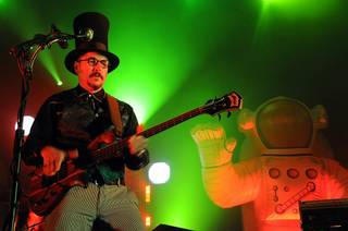 Primus performs at The Joint in the Hard Rock Hotel on Aug. 14, 2010.