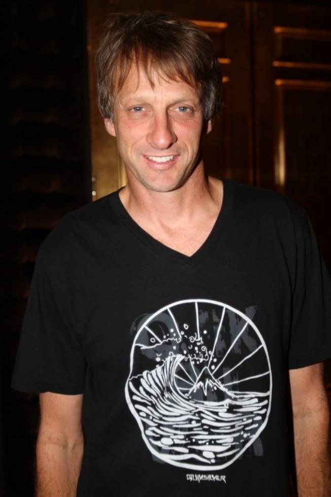 Tony Hawk at the Hard Rock Hotel.