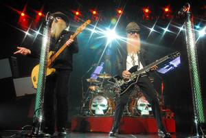 ZZ Top at Las Vegas Hilton