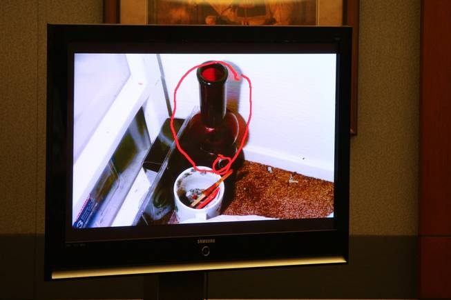 A photograph of a marijuana bong seen in Trevon Cole's residence was displayed Saturday during a coroner's inquest at the Regional Justice Center.