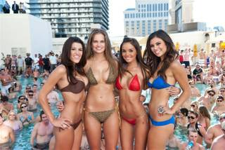 Pleasure Pool Bikini Contest at Planet Hollywood, Week 12