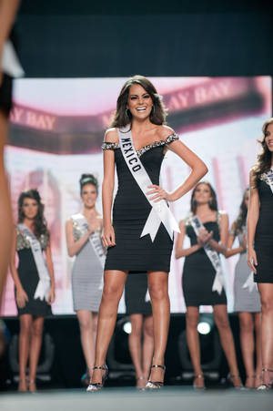 Miss Mexico Jimena Navarrete was crowned the 2010 Miss Universe at Mandalay Bay Events Center on Aug. 23, 2010.