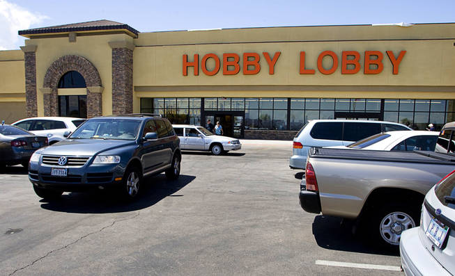 The parking lot was full Thursday at the Hobby Lobby in Henderson. The store, the 441st in the chain, opened Monday in a 51,000-square-foot space formerly occupied by a Von's supermarket. Even as many retailers and food establishments are struggling to outlast the recession, new franchises are entering the market or expanding their foothold.