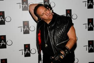 Andrew Dice Clay at Tao in The Venetian on Aug. 26, 2010.