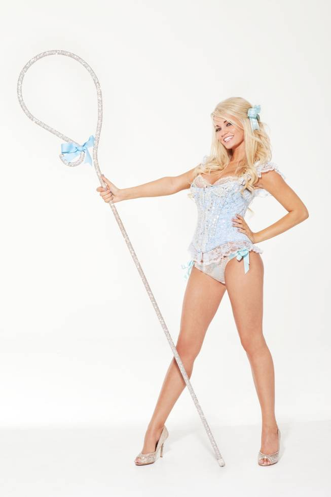 Angel Porrino as Bo Peep in <em>Peepshow</em>.