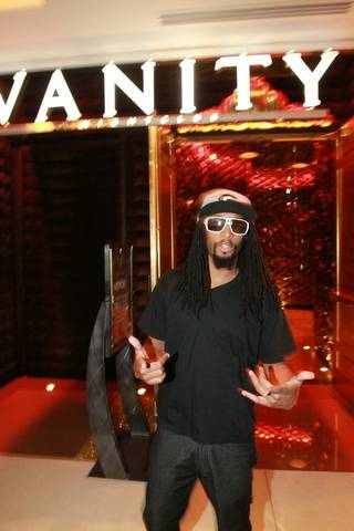 Lil' Jone at Vanity in the Hard Rock Hotel on Sept. 5, 2010.