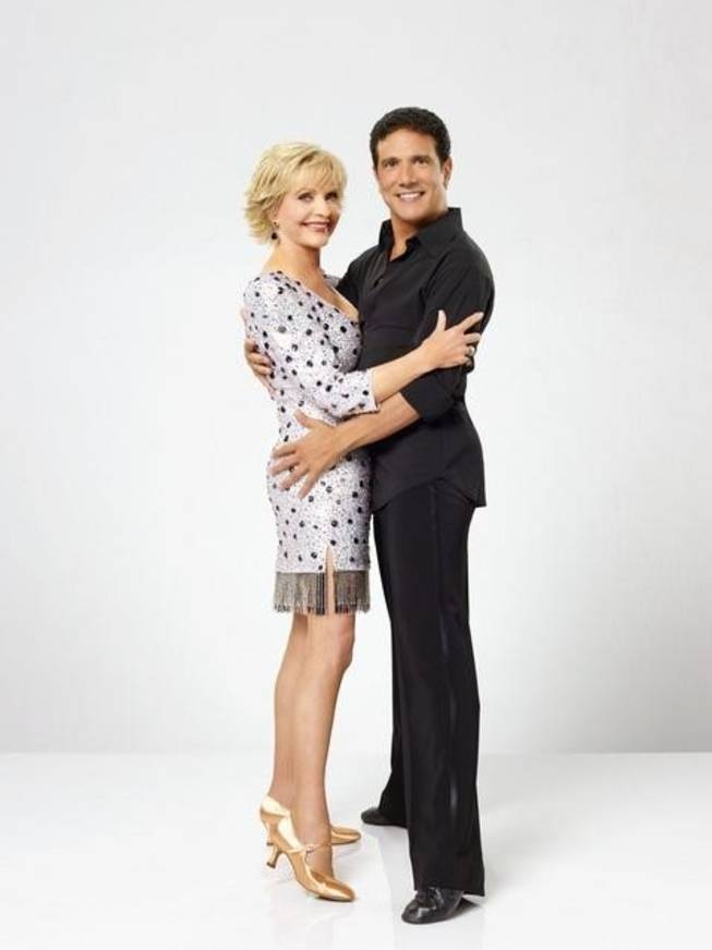 Florence Henderson and Corky Ballas.