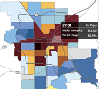 Interactive Home Prices Map