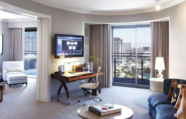 The Cosmopolitan's rooms will be marketed as a resort hotel with added perks typical of condominiums.