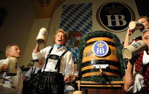 Siegfried at Hofbrauhaus