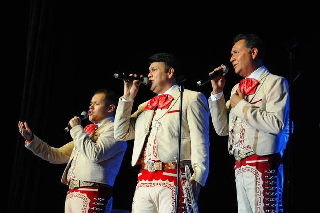 Mariachi Los Camparos performs during the 2010 Las Vegas International Mariachi Festival at the Rio on Sept. 18, 2010.