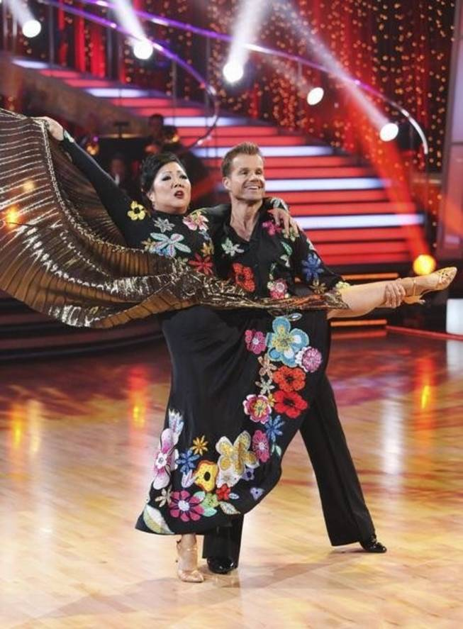 Margaret Cho and Louis Van Amstel on Season 11 of ABC's <em>Dancing With the Stars</em> on Sept. 20, 2010.
