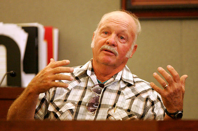 Will Nelson testifies during a coroner's inquest for Erik Scott at the Regional Justice Center Saturday, September 25, 2010.