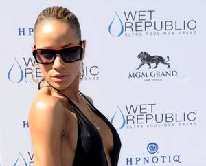 Dania Ramirez Hosts at Wet Republic