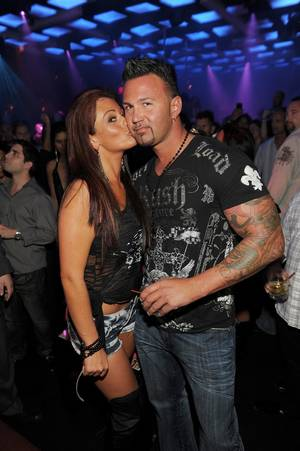 JWoww and Roger Mathews at Jet