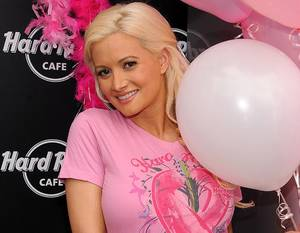Holly Madison Kicks Off Pinktober