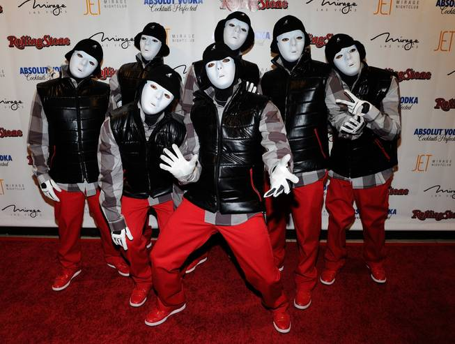 Jabbawockeez at <em>Rolling Stone</em>'s 2010 Hot Party at Jet in The Mirage on Oct. 1, 2010.