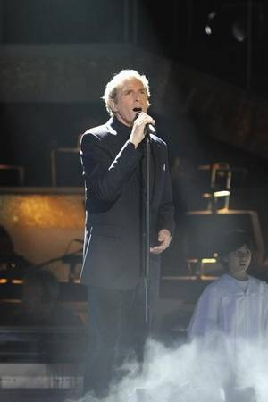 Michael Bolton on the Week 3 results show of ABC's <em>Dancing With the Stars</em> on Oct. 5, 2010.