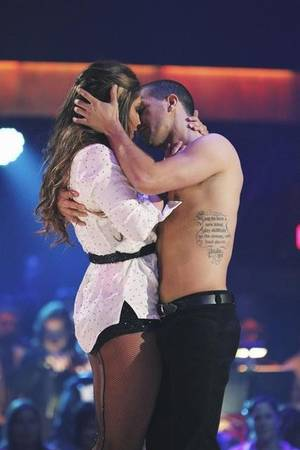 Bristol Palin and Mark Ballas on ABC's <em>Dancing With the Stars</em> on Oct. 11, 2010.