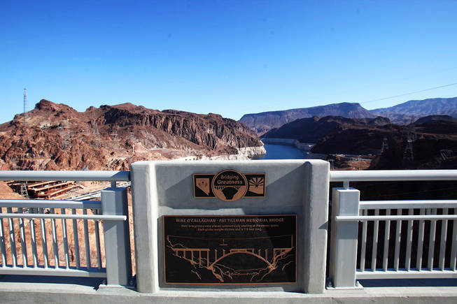 The Hoover Dam Bridge Dedication