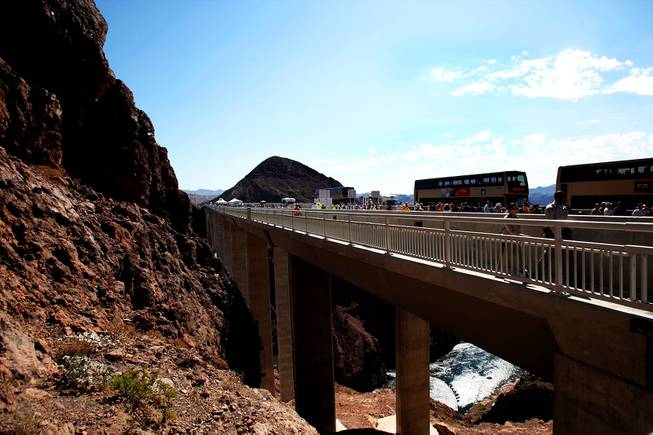 Hoover Dam Bypass Bridge Dedication