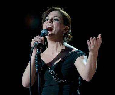 Martina McBride performs during David Foster & Friends at Mandalay Bay Events Center on Oct. 15, 2010.