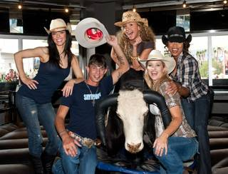 J.B. Mauney and Fantasy at PBR Rock Bar & Grill in Planet Hollywood on Oct. 18, 2010.